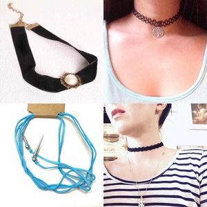 Jewelry - Bundle of necklace chokers